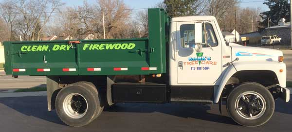 Firewood Delivery Rockford IL